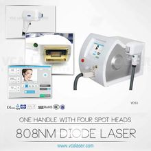 laptop cute shape high energy 808nm laser hair removal