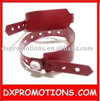 pvc vinyl id bracelet cheapest to be as tickets