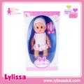 Factory supply hot sale cheap toys 14 inch vinyl angel baby doll with sounds 12 IC.