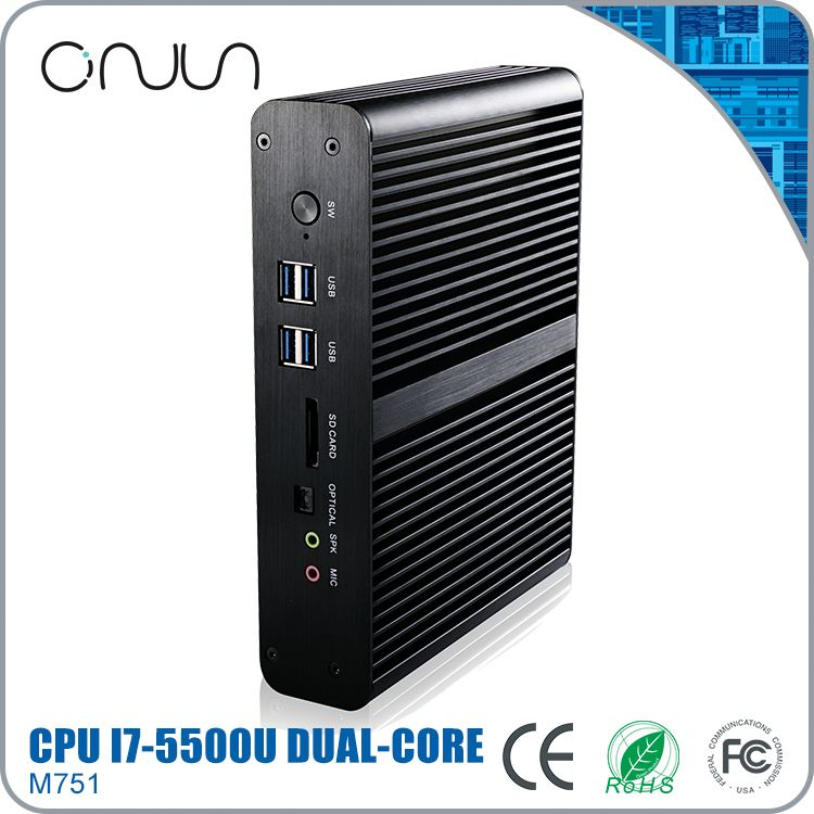 high quality computer i7 fanless computers pc 12v latest configuration pc