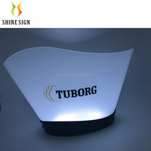 tuborg beer promotion 12L large rgb lighting led illuminated ice bucket