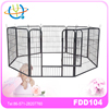 8 Panels Portable Puppy Exercise Fence play pen
