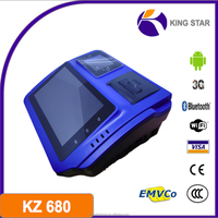 KZ680 android 4.0 3g bt fingerprint pos terminal