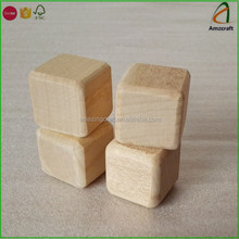 Maple Wood Blocks,Great for Wood Dice Games,Accept Customized Engraved Logo
