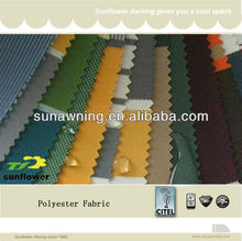 Popular PU Coating Polyester Canopy Fabric Material
