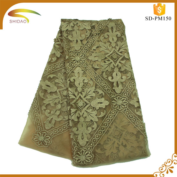 high quality new style swiss voile lace in switzerland/african swiss lace fabric