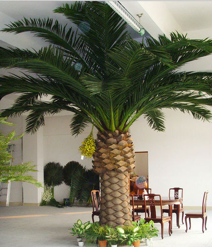 2014 China lowes price artificial date palm tree for indoor outdoor decoration china factory