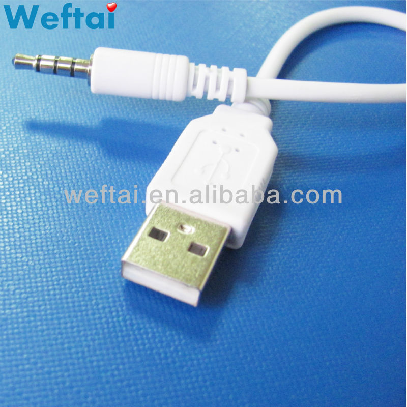 3.5mm TRRS Headphone Jack HiFi Audio to PC Computer USB Adapter Lead Cable Cord