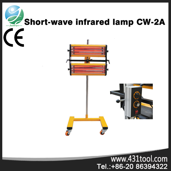 CW-2A Working Time ir curing lamp
