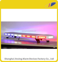 amber led emergency vehicle lights, police led light bar, auto emergency red and blue lightbar