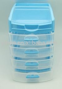Plastic Trinket Box, Cosmetic Case, Storage Container