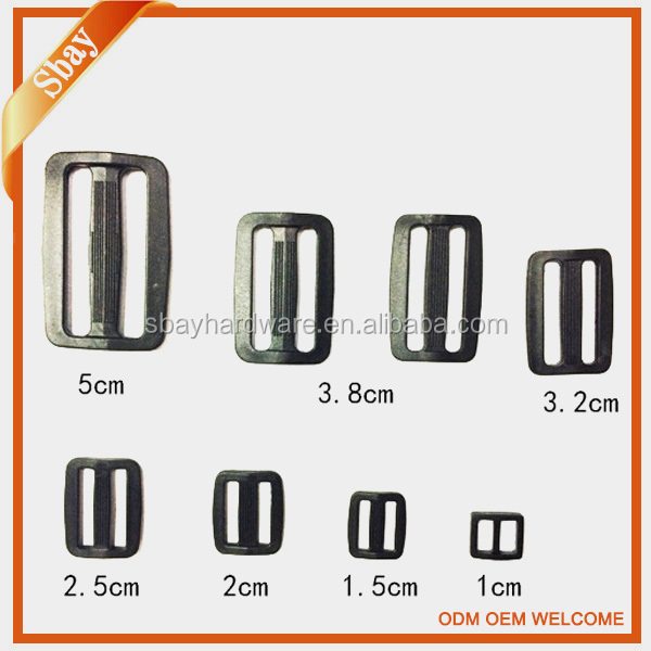 Wholesale POM plastic strap buckle clips for bags and luggage