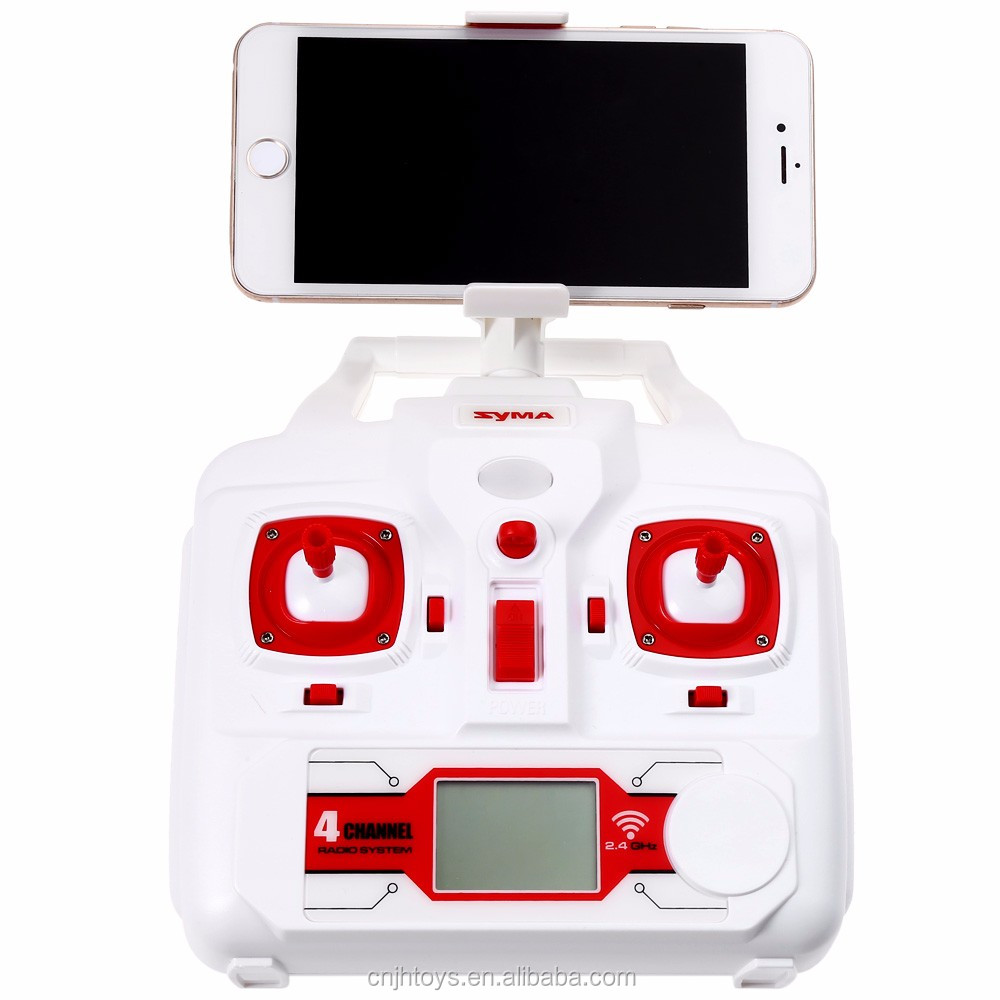 Syma X8HW WIFI FPV 2.4G 6 Axis Gyro Headless& Height Hold Drone with HD Camera