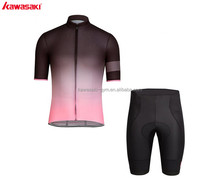 Quick dry professional new design sublimation fittness cycling clothes sets