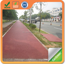 Anti-skid color asphalt cold mix for car parks colored road asphalt material