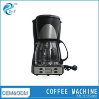 12 Cup Electric Digital Control Short Coffee Maker
