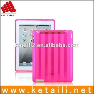 tpu back cover case for ipad 2