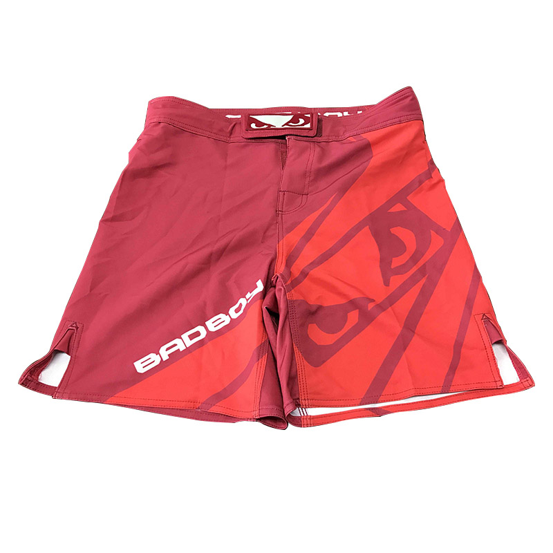 Blank mma fight shorts with your own design