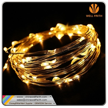 10M 100LEDS rice lights copper wire string lights for Xmas/wedding decoration LED fairy light