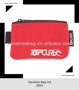 2013 hot selling waterproof neoprene wallet with logo