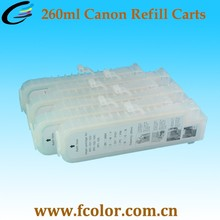 Empty Refill Ink Cartridge for Canon IPF680 IPF685 IPF681Printer