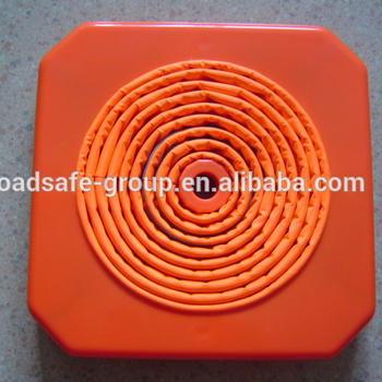 Wholesale Anti-collision Flexible Soft colored collapsible traffic cones
