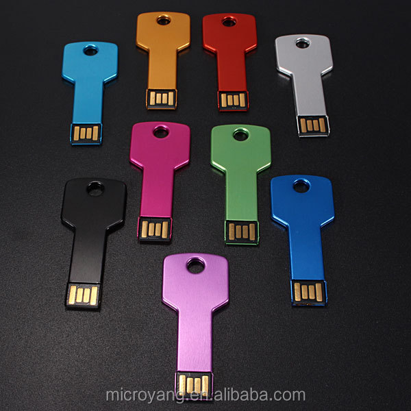 OEM USB 2.0 Portable Key Style Flash Memory Stick Pen Drive