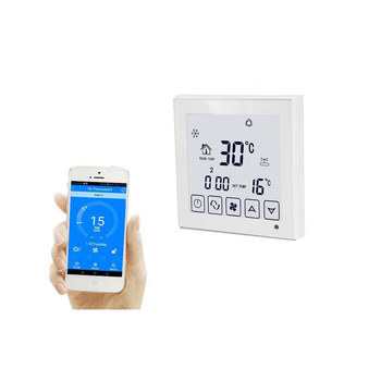 Weekly programmable Wifi  digital home automation system temperature and fan speed controller
