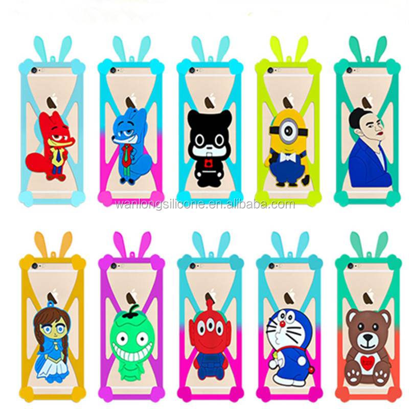 Hot sell popular shockproof silicone rubber cell phone case