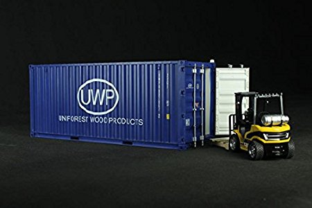 ABS craft container model in scale 1:20 20 FEET