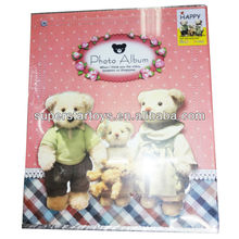 "4*6"" and 6*8"" bear baby photo albums"
