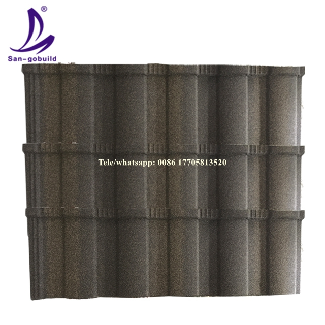wholesale color stone coated steel roof tile/color roof philippines/galvanized sheet metal price from Factory