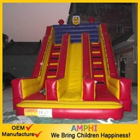 PVC giant inflatable slip and slide