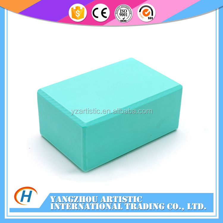 customized polyurethane eva yoga foam blocks