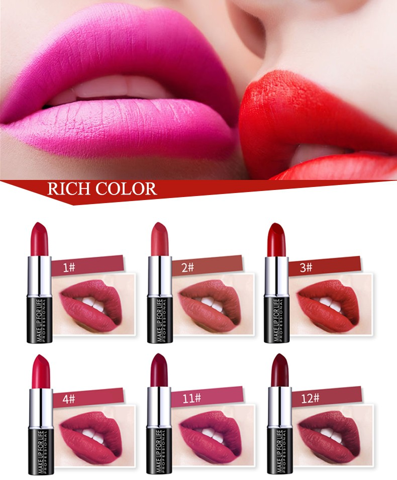Make your own brand for matte lipstick