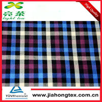 Natural Wrinkle-free Bamboo Poly Shirting Fabric for Classic Casual/Business/Dress Shirt Woven Yarn Dyed Fancy Color