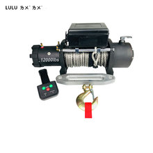 LULU Brand 12000lbs 4x4 electric winch for sale