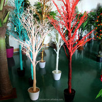 wholesale artificial dry tree branch coral for wedding decoration