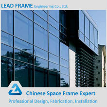 Light Frame Structure Exposed Framing Glass Curtain Wall