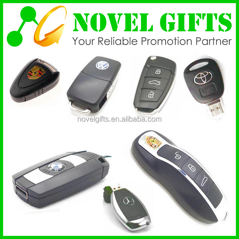 Car Gifts Custom Car Keys Shape USB Flash Drive Memory Disk