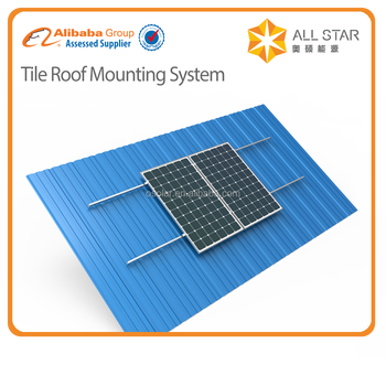 High quality 1kw 2kw 3kw 4kw 5kw Aluminum Galvanized solar Mounting System with best price | solar Mounting