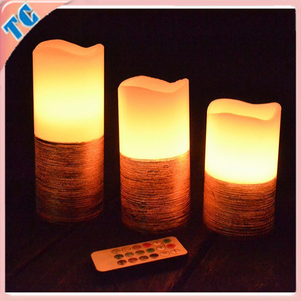 Fashion led candle light, wedding candle ,white candle for party,room