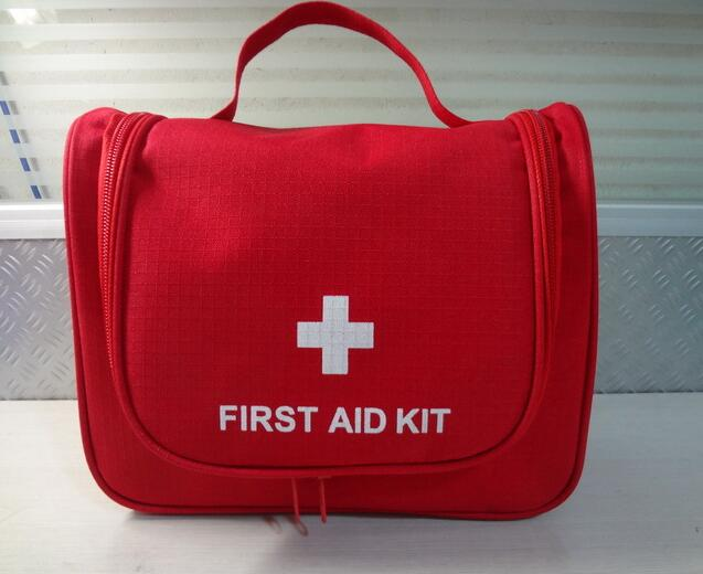 Fashion Korean style small foldable Nylon first aid kits empty bags for emergency Medical Product