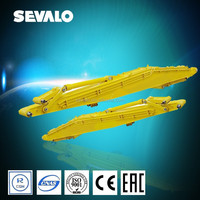 New products excavator 13m,15.38m long reach boom and arm price