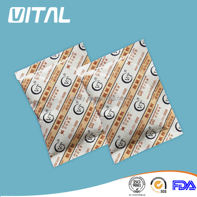 100cc Oxygen Absorbers for Dehydrated Food and Emergency Long Term Food Storage