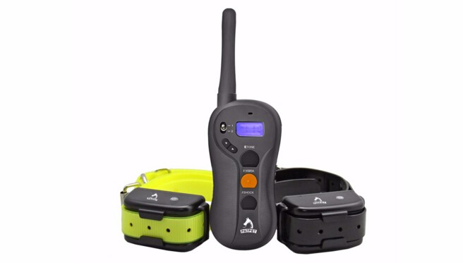 Amazon Patent Design Waterproof Electric Remote Control Dog Bark Trainer, Electro Peted Vibra Beep Dog Shock Collar