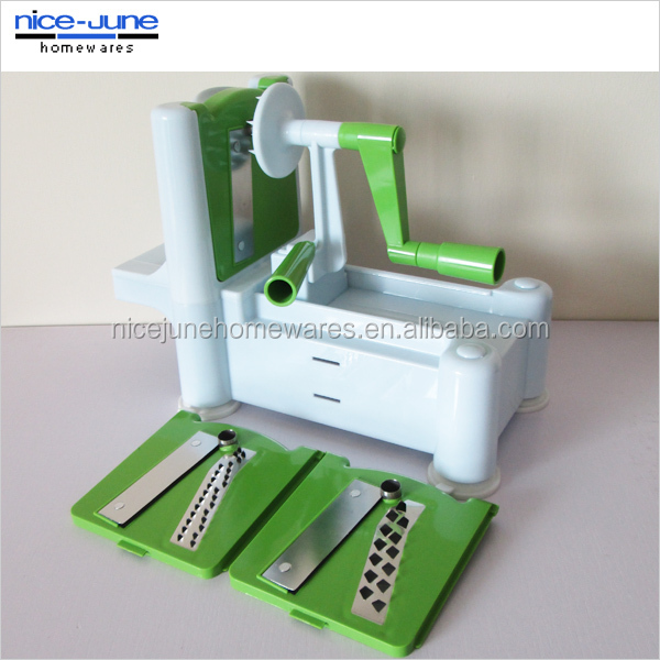 2014 kitchen good helper spiral vegetable slicer
