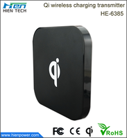China suppliers economical mobile phone battery wireless charger for apple smartphone xiaomi android