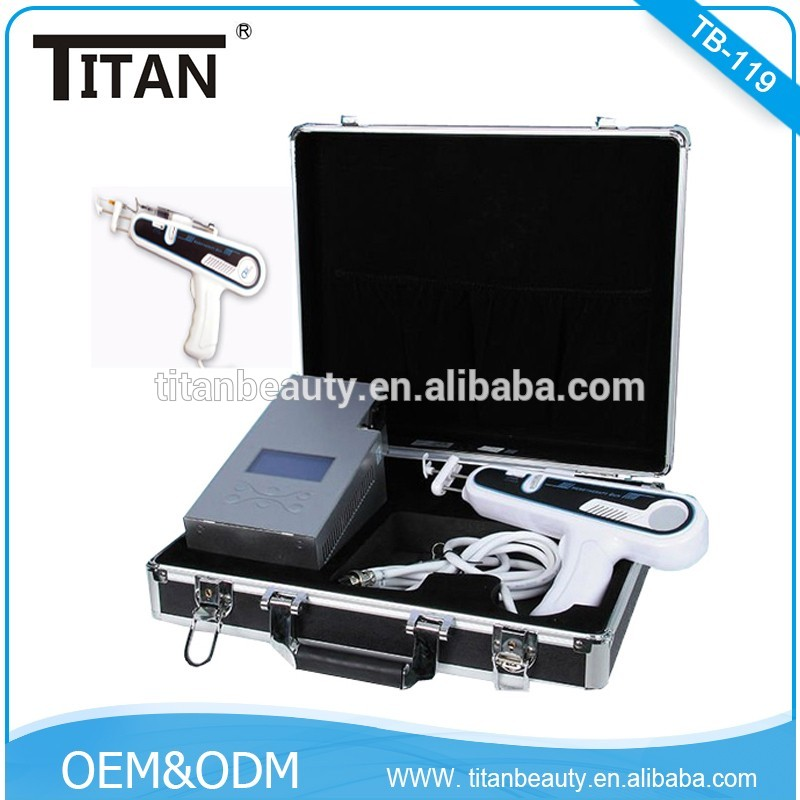 TB-119 Professional Facial Needle Free Vacuum Mesotherapy Gun For Wrinkle Removal Vital Injector Beauty Equipment
