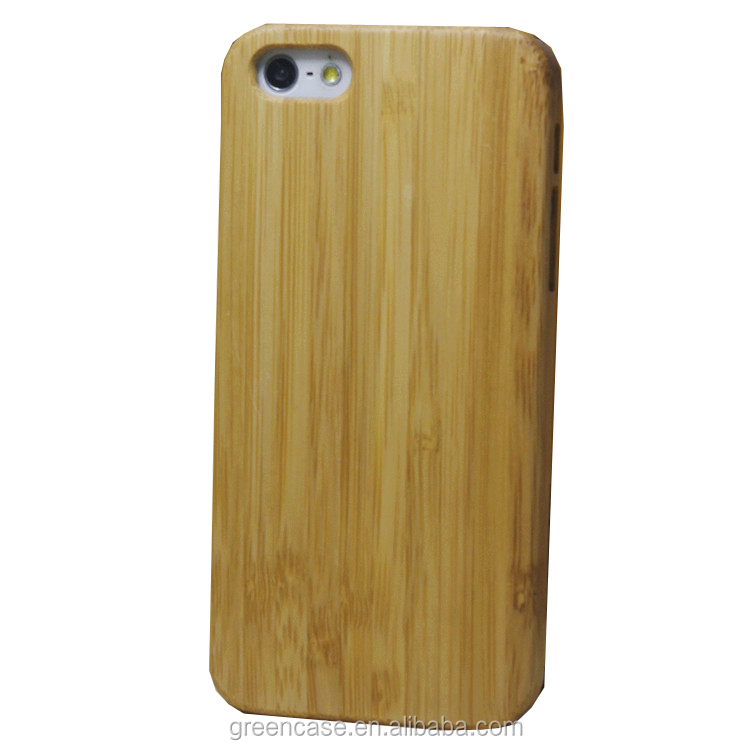 Newest Pure Color One Piece Wooden Cell Phone Case for Iphone5/5s/5 se